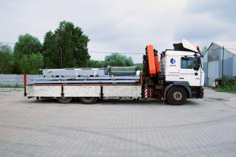 Transport samochodami skrzyniowymi i platformami do 24 ton